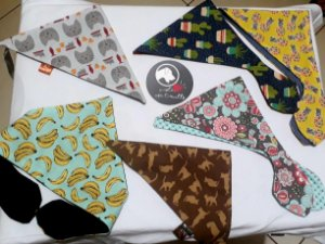 Bandanas Cat e Dog Premium