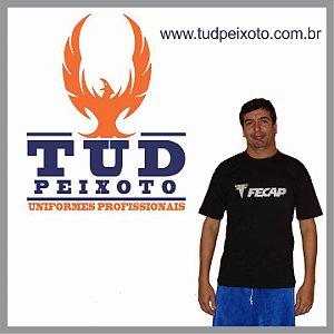 Camiseta Básica em Malha