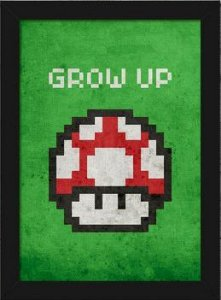Quadro A4 Mushroom Pixel Grow Up