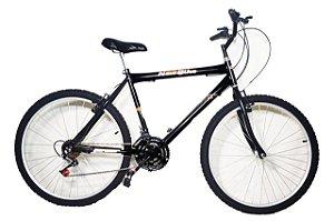 Bicicleta aro 26 new bike 18 marchas pneus de cravo