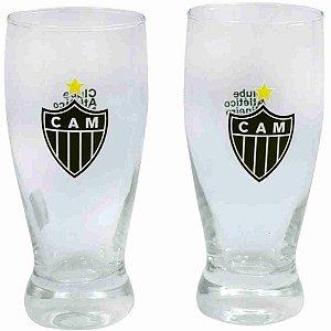 Jg 2 Copos Lager 350ml - Atlético Mineiro
