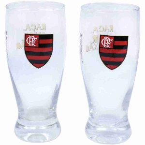 Jg 2 Copos Lager 350ml - Flamengo