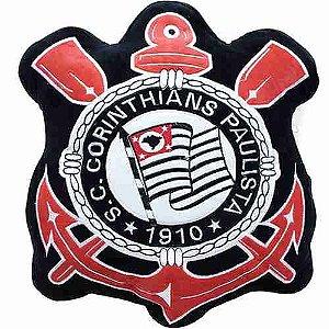 Almofada Brasão (Fibra) - Corinthians