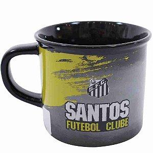 Caneca De Porcelana 400ml - Santos