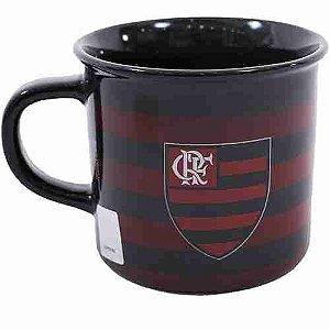 Caneca De Porcelana 400ml - Flamengo