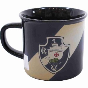 Caneca De Porcelana 400ml - Vasco