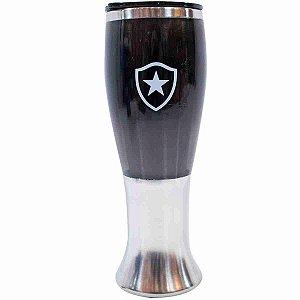 Copo Lager Inox 430ml - Botafogo