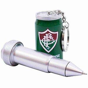 Chaveiro Em Forma De Lata Com Caneta - Fluminense