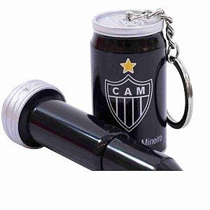 Chaveiro Em Forma De Lata Com Caneta - Atlético Mineiro