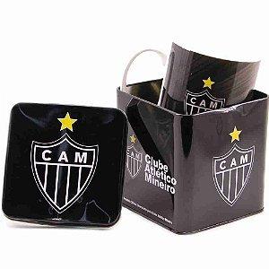 Caneca De Porcelana Na Lata 320ml - Atlético Mineiro