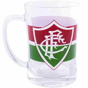 Caneca De Vidro 660ml - Fluminense