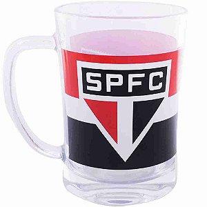 Caneca De Vidro 660ml - São Paulo SPFC