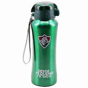 Garrafa De Inox Com Tampa De Plástico 650ml - Fluminense