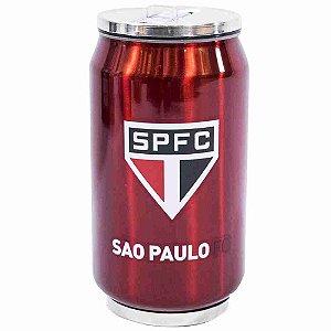 Copo De Inox Com Canudo 300ml - São Paulo