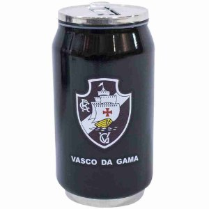 Copo De Inox Com Canudo 300ml - Vasco