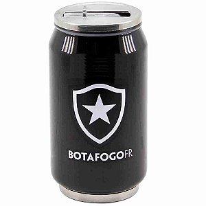 Copo De Inox Com Canudo 300ml - Botafogo
