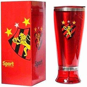 Copo Lager Inox 400ml - Sport Recife