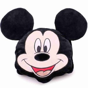 Almofada Multi-Função Formato Mickey (Fibra) - Disney