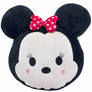 Almofada Rosto Minnie Tsum Tsum (Fibra) - Disney