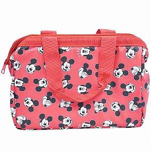 Bolsa Térmica Vermelha Mickey 24X34cm - Disney