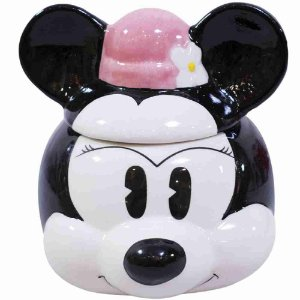 Caneca Porcelana Rosto Minnie Cartoon - Disney