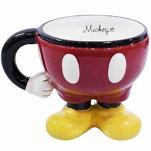 Caneca Porcelana Corpo Mickey - Disney