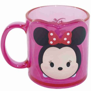Caneca Rosa Minnie Tsum Tsum 250ml - Disney