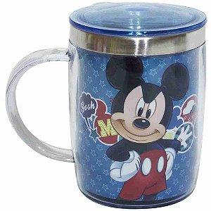 Caneca Térmica Azul Mickey 450ml - Disney