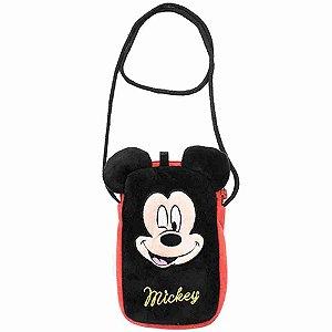 Bolsa Porta Celular Mickey - Disney