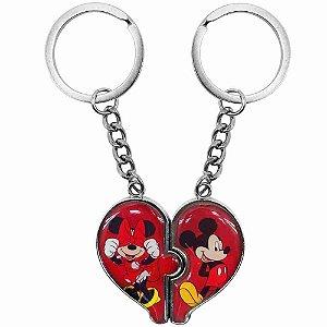 Chaveiro Mickey & Minnie - Disney