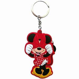 Chaveiro Borracha Minnie - Disney