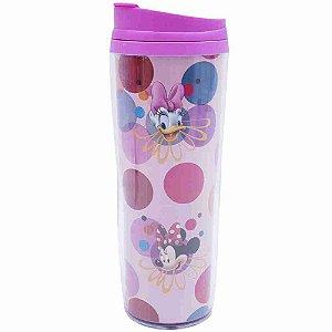 Copo Rosa Térmico Minnie 450ml - Disney