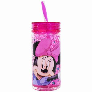 Copo Congelante Com Canudo Minnie 350ml - Disney