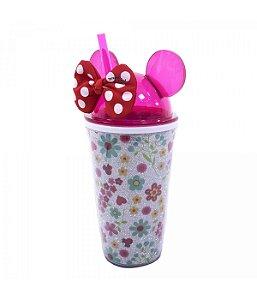 Copo Com Laço Orelhas Minnie 450ml - Disney