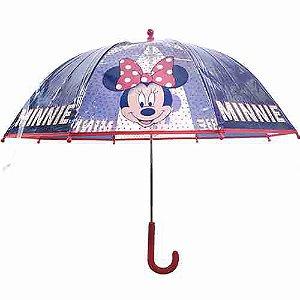 Guarda Chuva Transparente Minnie Mouse - Disney
