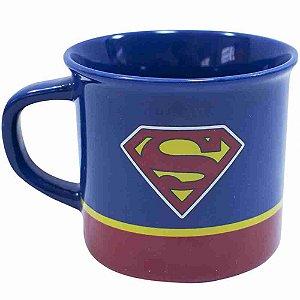 Caneca De Porcelana Superman 400ml - Liga Da Justiça
