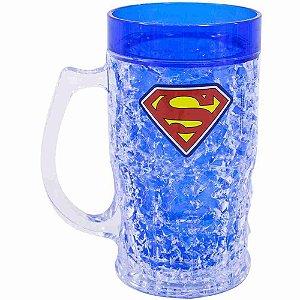 Caneca Congelante Superman 400ml - Liga Da Justiça