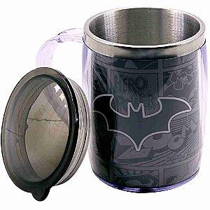 Caneca Térmica Batman 450ml - Liga Da Justiça