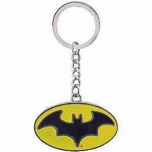 Chaveiro De Metal Símbolo Batman - Liga Da Justiça