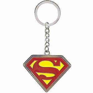 Chaveiro De Metal Símbolo Super Homem - Liga Da Justiça
