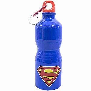 Garrafa De Alumínio Super Homem 500ml - Liga Da Justiça