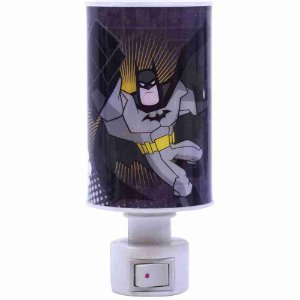 Luminária Abajur Batman - Liga Da Justiça