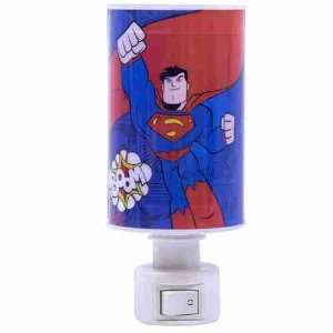 Luminária Abajur Superman - Liga Da Justiça