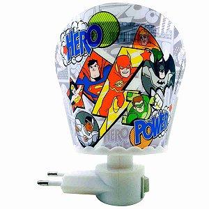 Luminária Led - Liga Da Justiça DC Comics
