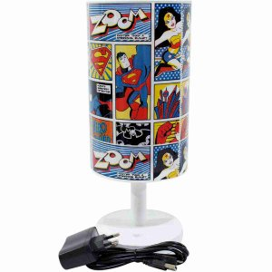 Luminária Abajur Quadrinhos - Liga Da Justiça