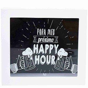 Cofre Porta Moeda Quadrado Para Meus Próximo Happy Hour - Projeto Kiwi