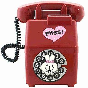 Cofre Fashion Old Phone Vermelho