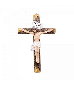Crucifixo 22cm - Enfeite Resina