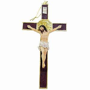 Crucifixo 29cm - Enfeite Resina