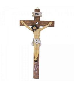 Crucifixo 30cm - Enfeite Resina